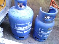 Gas bottols