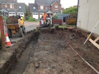 Mini/Micro digger, Groundworks & Landscaping Services