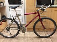 """Adults Carrera Chromo Hybrid Bike. 19"""" Frame. 26"""" Wheels. Serviced bike"""