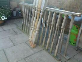 Decking rails and posts