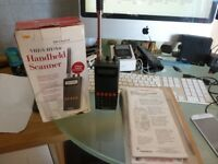Radio Shack Pro 82 Handheld Scanner - VHF/UHF/Air - 200 Channel w/Weather Alert