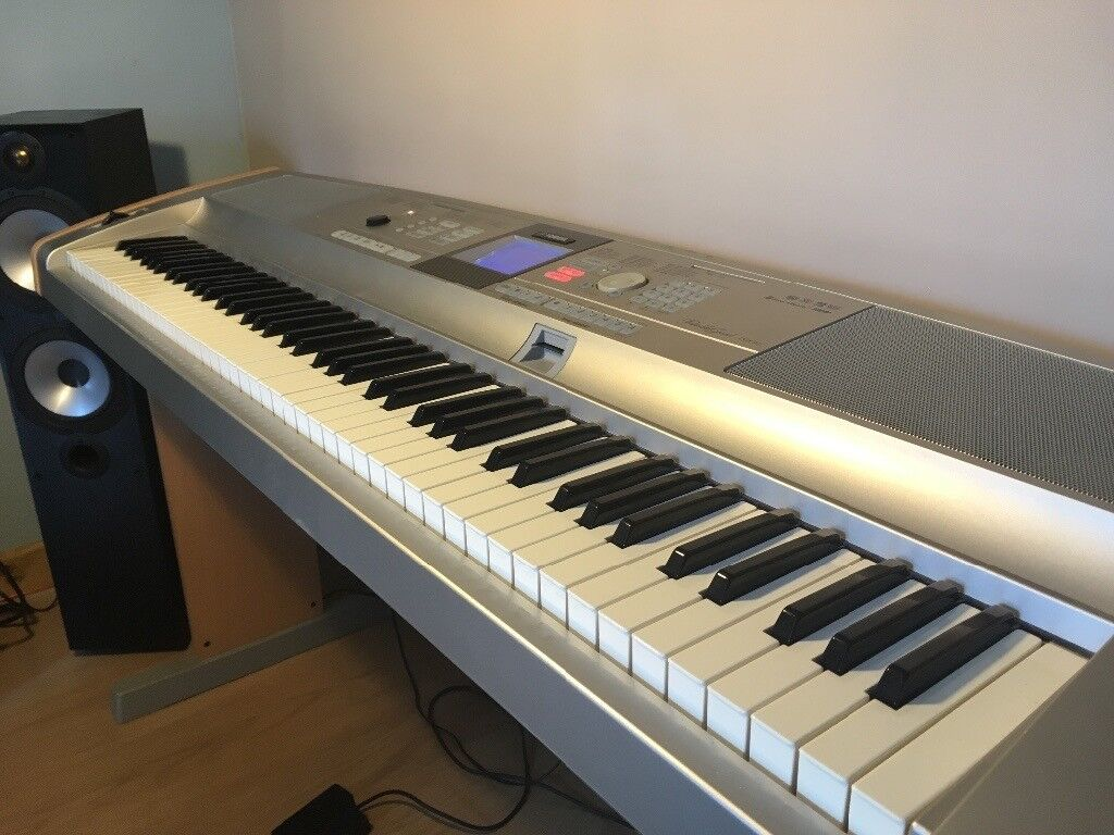 yamaha dgx 505 keyboard piano 88 touch sensitive keys