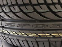 "NEW TYRES - 205/55/16 & NEW 15"" WHEEL TRIMS & USED 185/65/15 TYRE"