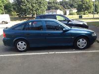 2002 Vauxhall Vectra 1.6 i 16v Club 5dr (a/c) .. full yers MOT