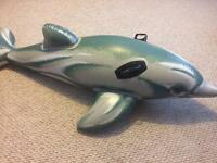 Inflatable Dolphin for pool/sea