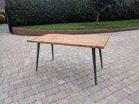 Rustic Teak Table (indoor and outdoor never unpackaged)