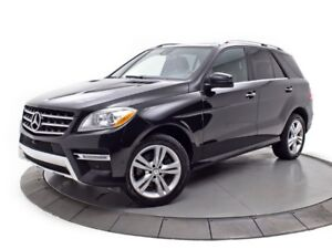 2015 Mercedes-Benz M-Class ML350 BlueTEC 4MATIC GPS CUIR TOIT CA