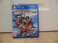 Just Cause 3 - PS4 - Original Disc with Instructions - Excellent Condition - Can Deliver