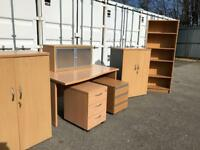 Job lot of excellent quality office furniture
