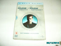 DVD THE BOURNE SUPREMACY AND THE BOURNE IDENTITY SET