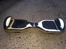 Silver gold hoverboard segway electric scooter