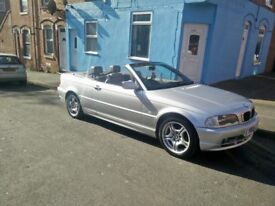 Bmw 318ci convertible 140k service history 8 stamps last service don 3wweks a go.
