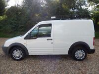 Ford Transit Connect 1.8 TDCi T200 SWB Lead-In 4dr one owner from new mint
