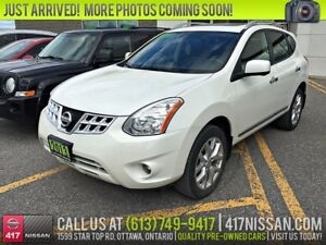 2013 Nissan Rogue SL AWD | Navigation, Leather, Sunroof
