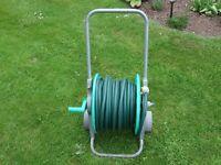 Hozelock Hose Trolley wit 46 metres of garden hose