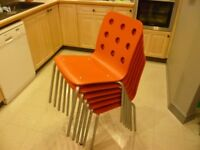 Set of 6 IKEA Jules chairs