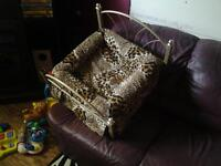 Animal Print Cat Or Small Dog Bed.