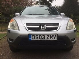 HONDA CRV-AUTOMATIC-2003-EXCELLENT CONDITION-FSH