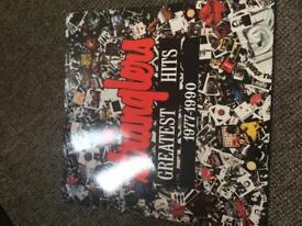 THE STRANGLERS GREATEST HITS VINYL RECORD 1977-1990 EXCELLENT