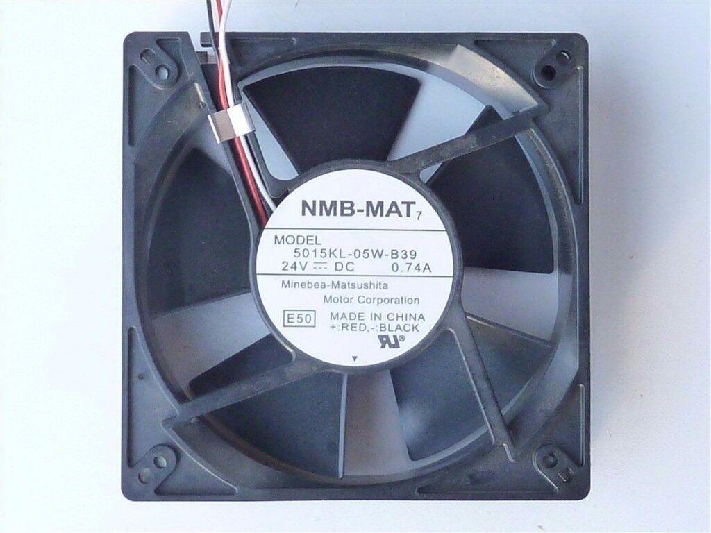 Cooling Fan NMB MAT7 5015KL-05W-B39 Fan 127x127x38mm 24V 0.74A 5015KL05WB39........New
