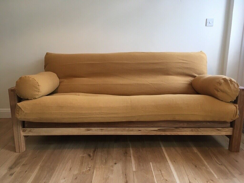 Solid Oak Sofabed From Futon Company