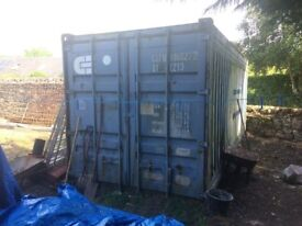 ** SOLD ** NO ENQUIRIES THANK YOU ** Storage Container / Shipping Container 20ft x 8ft