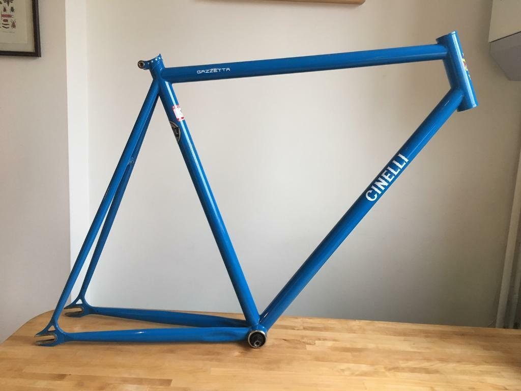 Cinelli Gazzetta - Bike frame, forks and bottom bracket | in Norwood ...
