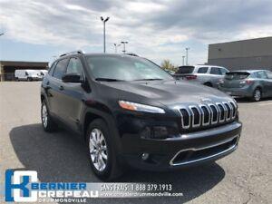 2015 Jeep Cherokee Limited **GPS, ENS. CHAUFFANT, ANGLE MORT**