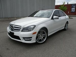 2013 Mercedes-Benz C-Class C 350 4MATIC FULLY LOADED ONE OWNER