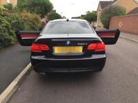 Facelift 2010 BMW 320d M sport Auto Red leathers e92