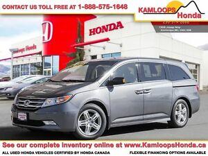 2011 Honda Odyssey Touring w/Rear Entertainment System
