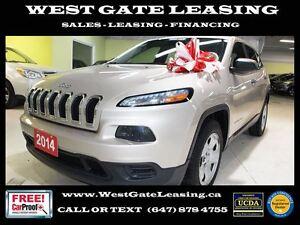 2014 Jeep Cherokee SPORT | 2.4L | CERTIFIED |