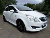 2010 Vauxhall Corsa 1.3 CDTi SE VXR Styling White MOT to 5.3.19