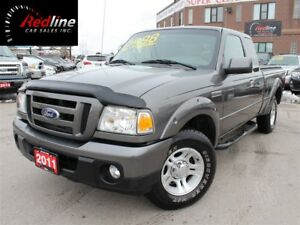 2011 Ford Ranger Sport 4.0L V6 Auto-AccidentFree