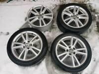 17 inch audi vw alloy wheels pcd 5x112