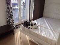 Spacious double bedroom in new development (2012) by Prince Regent DLR