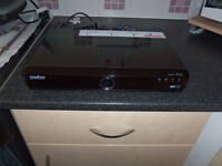 bt youview box records tv programs and catch up tv.blue light comes on and says please wait