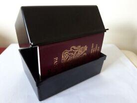 5 x 3 inch index card box