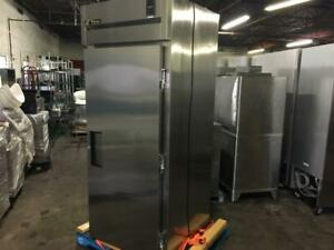 34 inch True Stainless Single Door Refrigerator model TR1RRI-1S like new only $2495!