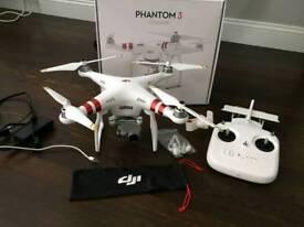 Phantom 3 drone 2.7k camera