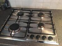 Stainless Steel Gas Hob in Full Working Order