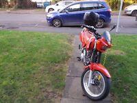 Hertford vr200x motorbike very low milaege