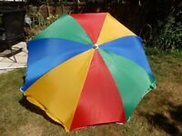 FREE DELIVERY NEW Parasol in Carry Pouch with TILT 1.80 m Beach Garden Shade