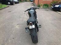 Honda NTV Revere 600 Brat/ Cafe Racer Motorbike