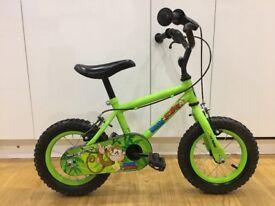"""Boys' - Kids' Apollo Marvin the Monkey 12"""" wheel bike Age 3-5"""