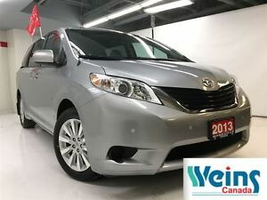 2013 Toyota Sienna 1 OWNR , NO ACCIDENTS , AWD , LE