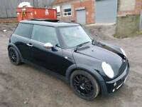 2005 MINI COOPER 1.6 ONE 3 DOOR HATCHBACK BLACK FULLY LOADED