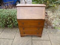 Vintage / old bureau with drawers/storage, shabby chic project