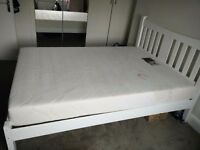 House clearance Double bed , Display units, corner sofa bed with storage, rug