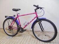 "1991 Kona Hahanna Retro Mountain Bike 90's Pink! 18"" Md Cromoly Unused for Years Original Working!"